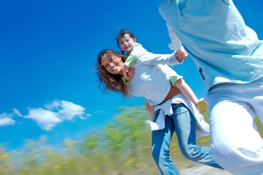 Titelbild Familie - Gesundheit und Soziales