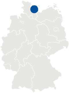 Lage des Kreis Ostholstein