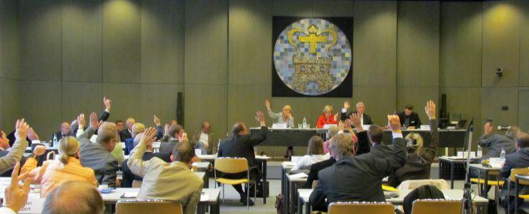 Kreistagssitzung